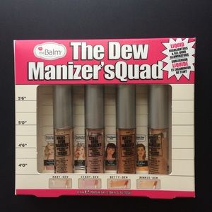 NEW & Unopened - The Balm The Dew Manizer's Quad